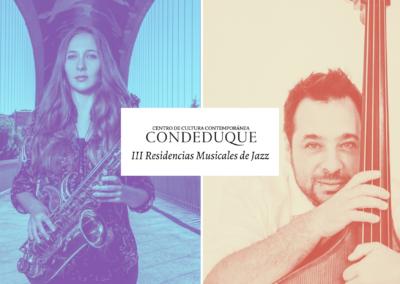 III Residencias Jazz Conde Duque